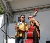 The Jaztronauts perform at the Fulton Festival – A Good Cause for a neighborhood